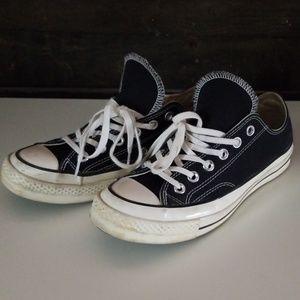 Converse 70s black/cream size 7.5M